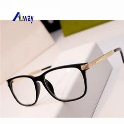3519dbedc2 Aliway Eyeglass Frames Retro Men Women clear Designer Eyewear Frame Optical  Eye Glasses Frame armacao para Oculos De Grau