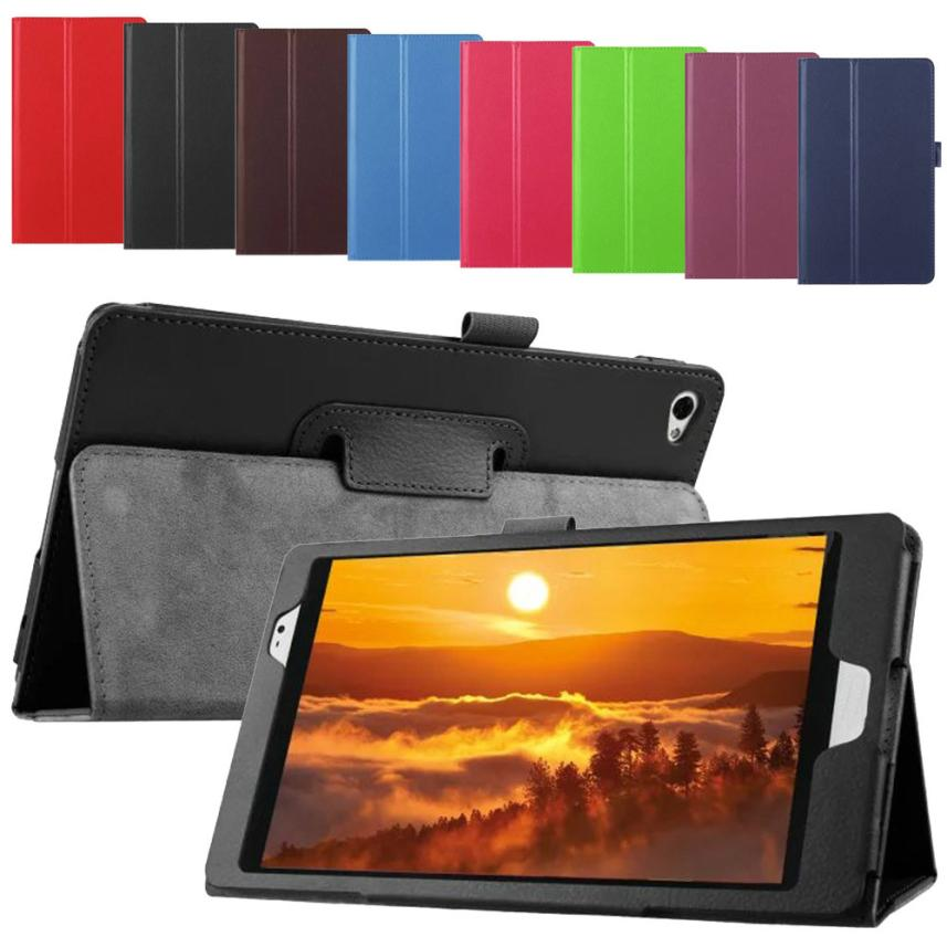 #AE Ultra Slim Flip Floding PU Leather Case Stand Cover for Huawei M2 Pad 8.0 inch