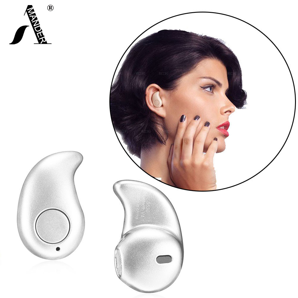 AmericaMander 50 lot BT4 S530 Mini Style Wireless Bluetooth 4 1 Earphone Sport Headphone font b