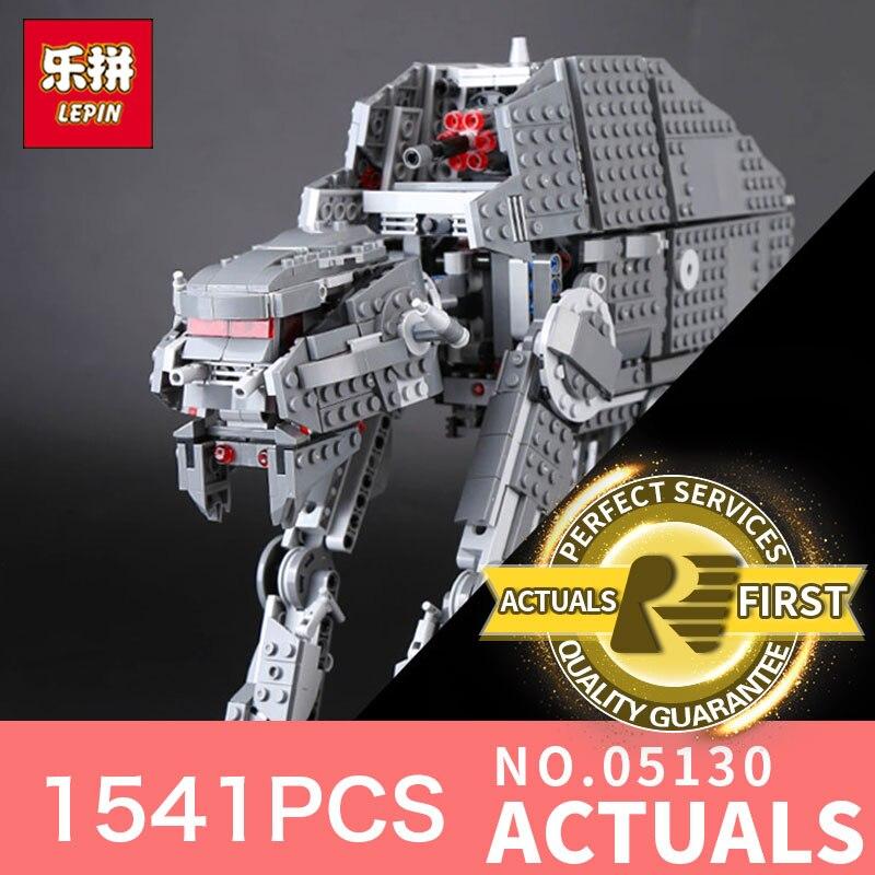 Здесь продается  Lepin 05130 1541Pcs the Genuine Star Plan Series The First order heavy assault walker Set LegoINGlys 75189 Building Blocks Toys   Игрушки и Хобби