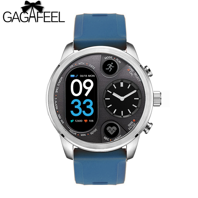 Gagafeel T3 Sport Hybrid Smart watch Stainless Steel Fitness Activity Tracker IP