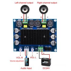 Image 2 - TDA7498 2.0 Digital Power Amplifier Board 100W*2 Dual channel Stereo Audio class d amplifier for speaker DC12 32V