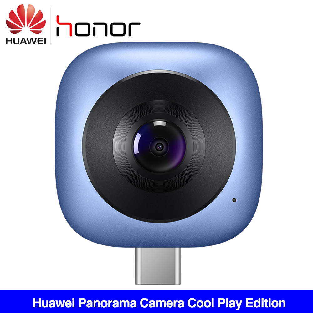 Huawei Envizion 360 Panoramic Camera Coolplay CV60 Lens HD 3D Live Motion Camera 360 Degree Android