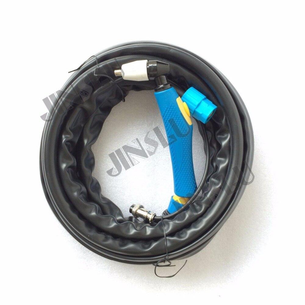 Máquina de Corte Plasma LGK40 CUT40 Ar Maçarico De Corte PT-31 PT31 Azul Cabeça 5 Metros
