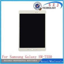 """Neue 9,7 """"zoll fall Für Samsung Galaxy Tab SM-T550 T550N T555 touchscreen Digitizer LCD Bildschirm-baugruppe Kostenloser Versand"""