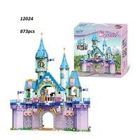 Legoed friends lepins girl friend toy Peincess Castle 12024 Building Blocks Bricks Funny Girls Kids Legoing Toys Christmas Gifts