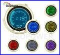 52mm de 2 polegadas LCD 7 Cor Digital Volt Medidor Smoke Lens 8-18 v/AUTO BITOLA