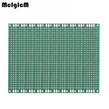 MCIGICM 10 шт. двухсторонний Прототип PCB diy универсальная печатная плата 2x8 см