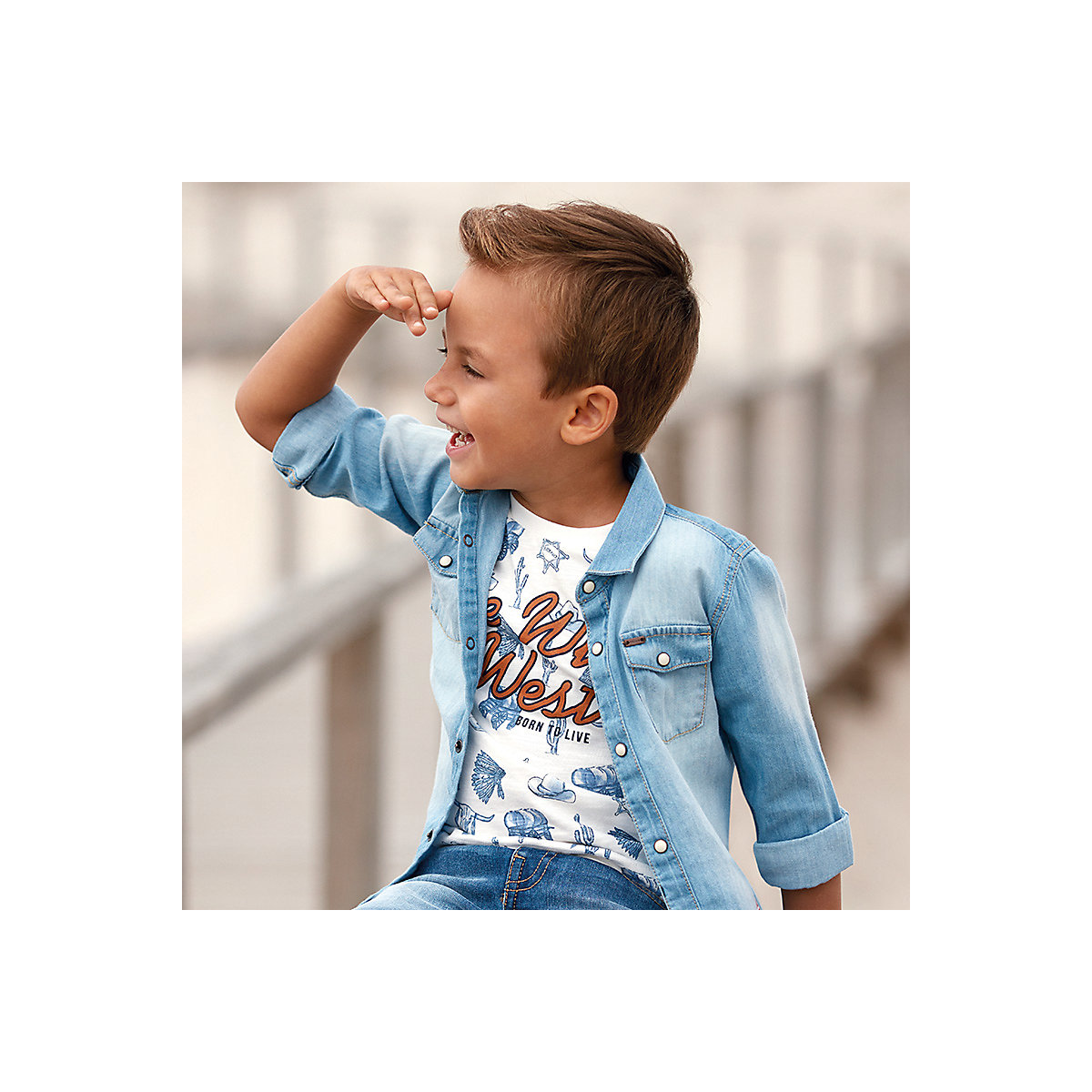 T-Shirts MAYORAL 10686852 Children sClothing T-shirt with short sleeves polo shirt for boys and girls black cold shoulder short sleeves t shirts