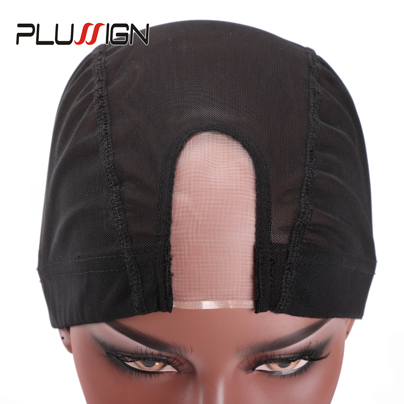 Plussign New Dome Cap For Wig Making U Part Wig Caps With Mono Net 1pcs/lot Mesh Dome Cap Breathable Comfortable Weaving Caps