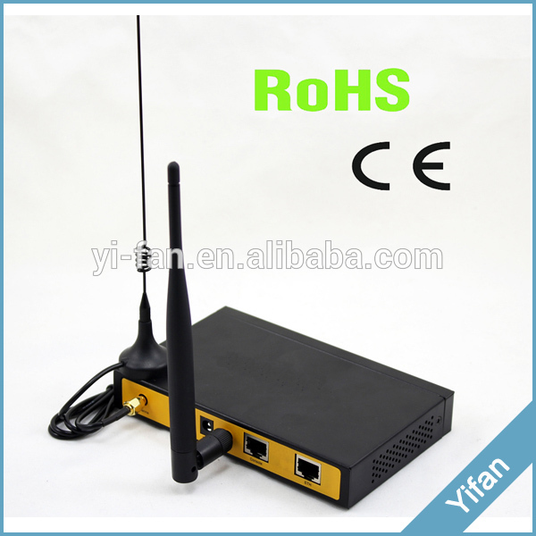 support VPN F3124 industrial level gprs wifi router for solar generation monitoring, Kiosk