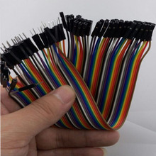 40pcs Dupont cable jumper wire dupont line male to female dupont line 20cm Free Shipping
