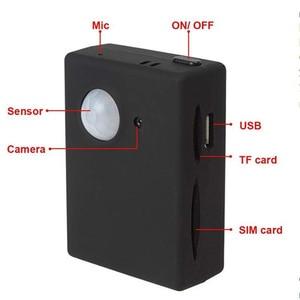 Image 2 - Mini X9009 GPS Tracker Smart Wireless PIR Motion Detector Sensor Support HD Camera SMS MMS GSM Anti theft Alarm System Mirco USB