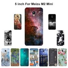 "Чехол для Meizu M2 mini Meilan 2 5,"", Чехол для телефона с пейзажем для Meilan 2 5,0"", Чехол s, мягкий ТПУ для Meizu M2 Mini, чехлы"