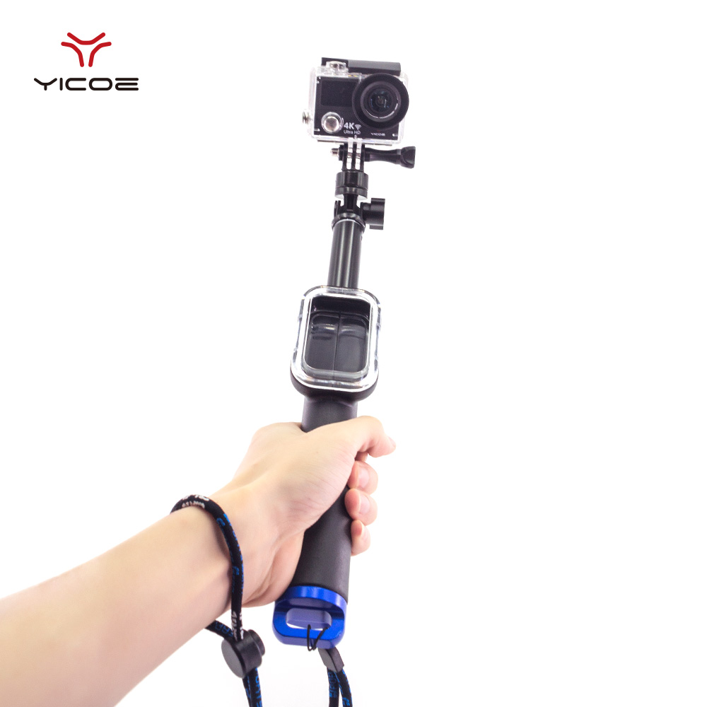 Remote Pole Handheld Monopod With WIFI Remote Housing Mount Tripod Mount Adapter For Gopro Hero 5