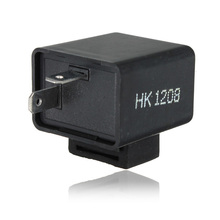 Motorcycle Flasher Relay LED Turn Signals Indicator Resistor 2-Pin For Harley /Honda /Yamaha
