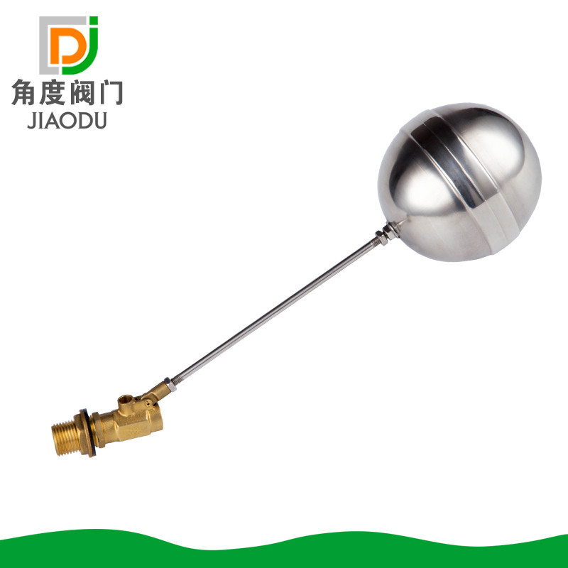 Yuhuan Supply DN15/20/25 Brass Cube Water Tank Water Supply Outside The Wire Float Valve From The Grant