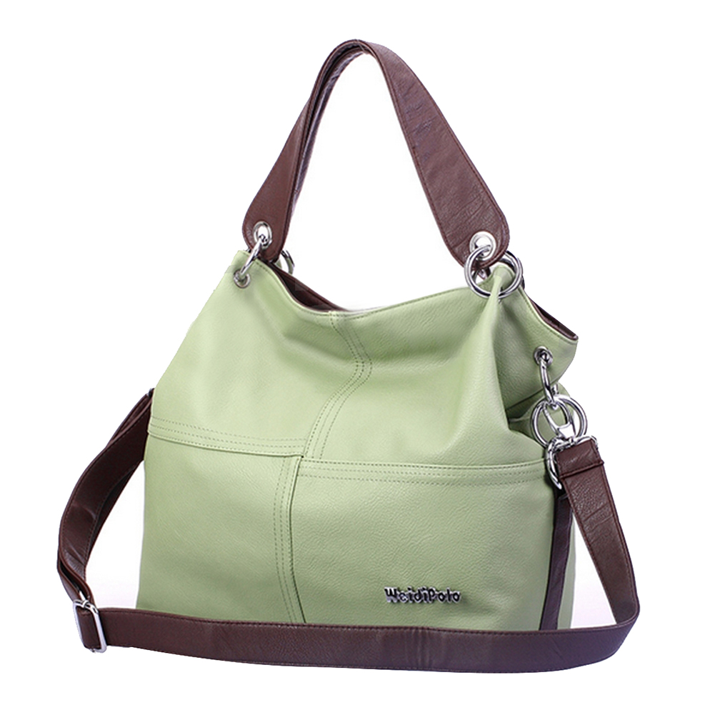 Green Leather Satchel Promotion-Shop for Promotional Green Leather ...