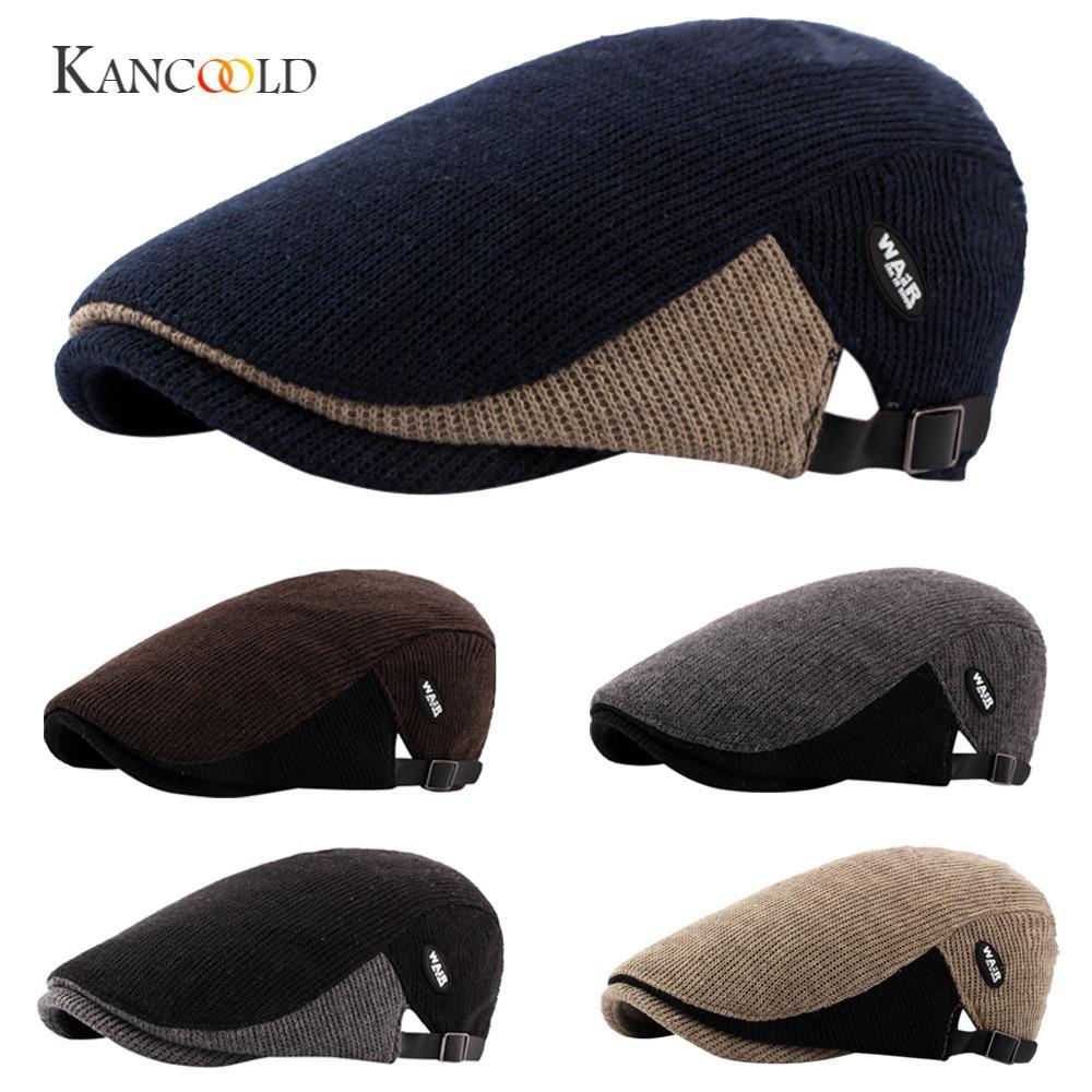 KANCOOLD cap hatsune miku Casual Men bucket hat Duckbill Ivy Cap Golf Driving Flat Cabbie Newsboy Beret Hat gloves FEB24