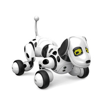 Intelligent RC Robot Dog Toy with LED Light Eyes for Kids