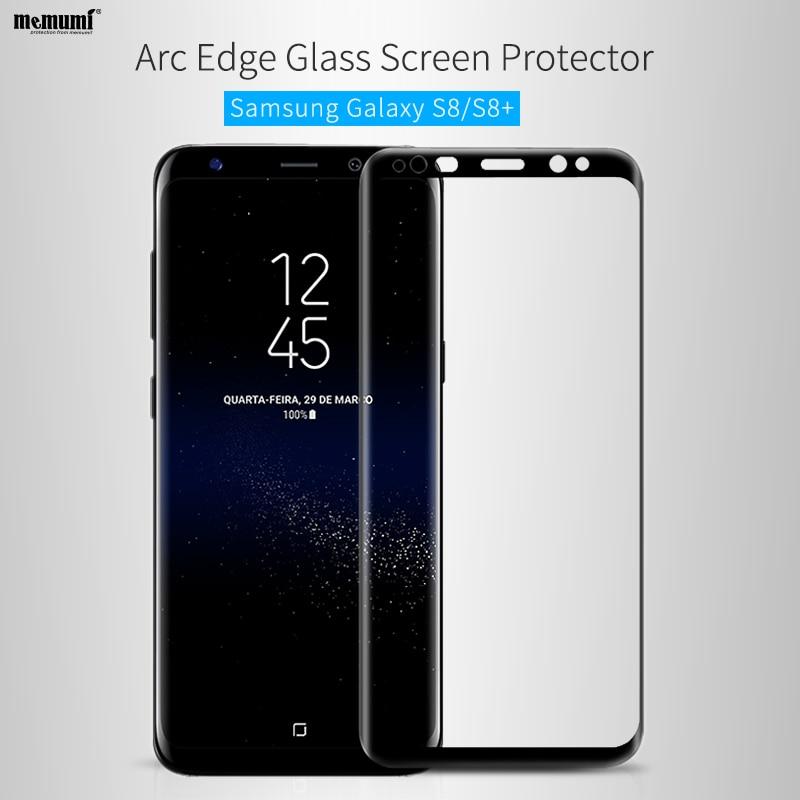 memumi härdat glasfilm för Samsung Galaxy S8 plus Nano 9H 3D 0.2mm - Reservdelar och tillbehör för mobiltelefoner