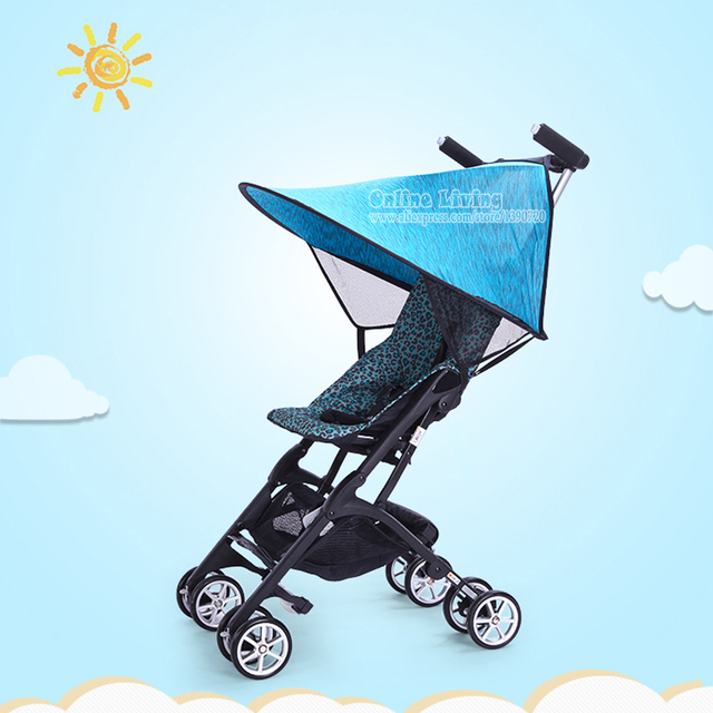 Lycra Sun Shade For Strollers And Car Seats Easy Fit Universal Stroller Canopy Extender Large and  sc 1 st  AliExpress.com & Lycra Sun Shade For Strollers And Car Seats Easy Fit Universal ...
