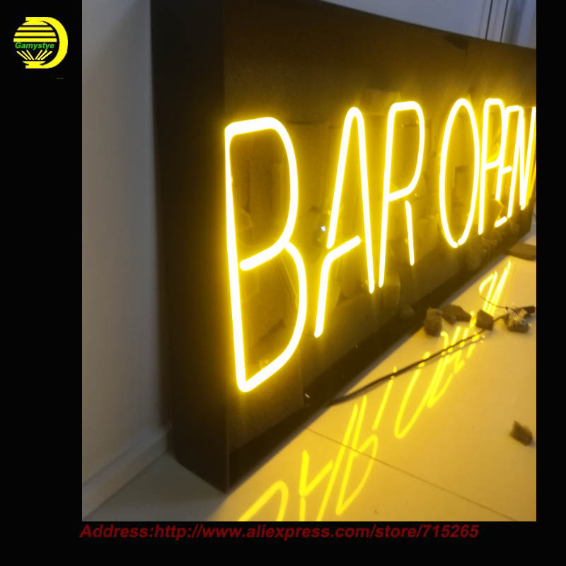 outdoor advertising led neon pub sign light decoration neon signs