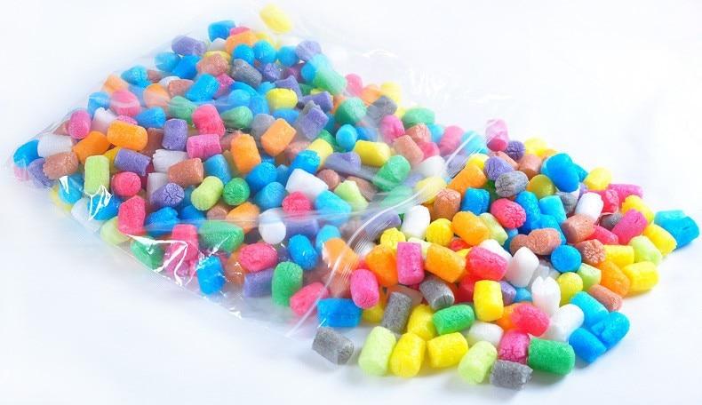 1500 PCs 12 colors magic corn plasticine clay / natural material nontoxic 3D DIY play dough toys/Kids child educational toys ...