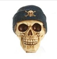 Resin skull skull head handicraft personality setting foreign trade supply office setting gifts