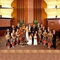Orange Camo bridesmaid dresses 2016 Halter Hi-Lo Camo Wedding Short Front Long Back Camouflage Dresses Custom Made 2016