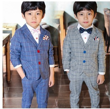 Minnie Mouse New Arrival Top Single Breasted Coat Regular Korean Children Three Piece Suit Boys Gentleman 2016 Autumn Leisure