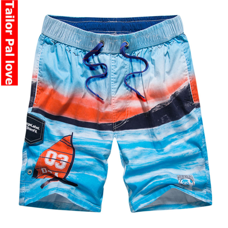 JERECY Mens Swim Trunks Summer Beach Wood Sand Shell Starfish Quick Dry Board Shorts with Drawstring and Pockets