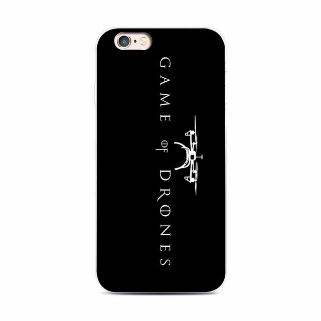 Drones Phone Case  iPhone 7 plus 4 4s 5 s 5 c 6 s for Samsung S5 S4 S6 S7edge