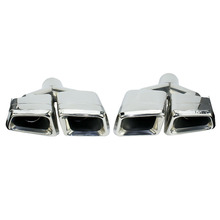 New For Mercedes Benz 2011 2013 ML W166 GL X166 exhaust Muffler Tip 304 Stainless Steel Pipe YC101020