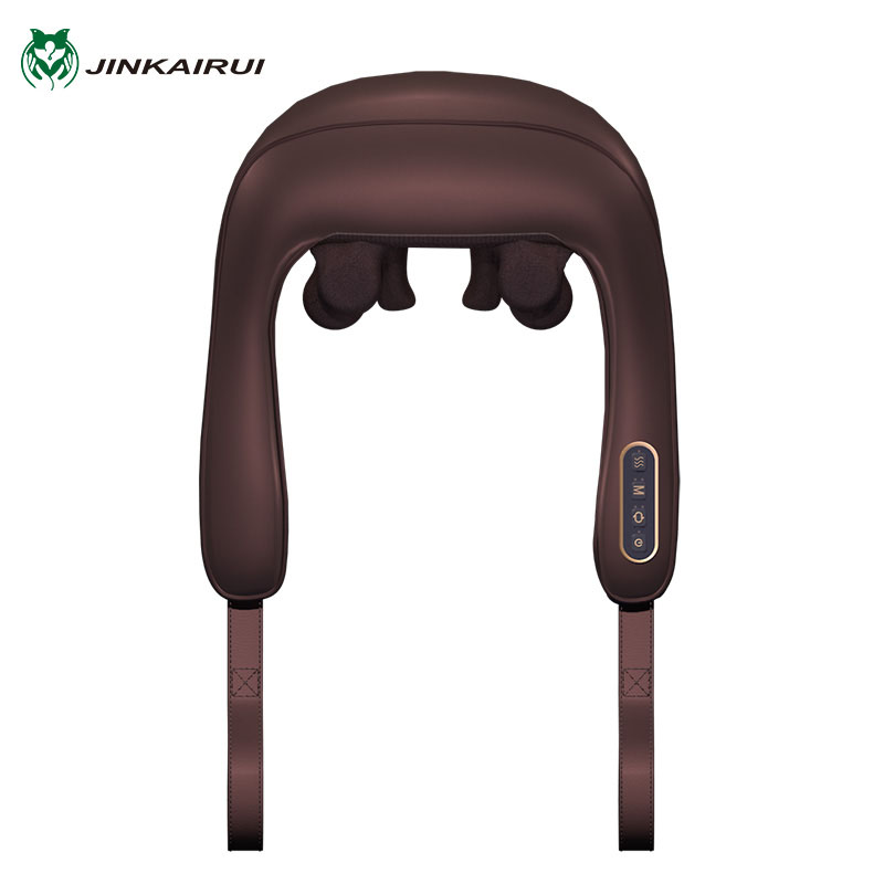 Jinkairui Electric Heating Neck Massager Shiatsu Car Home Infrared Kneading For Back and Shoulder Massaj Body Massageador RelaxJinkairui Electric Heating Neck Massager Shiatsu Car Home Infrared Kneading For Back and Shoulder Massaj Body Massageador Relax