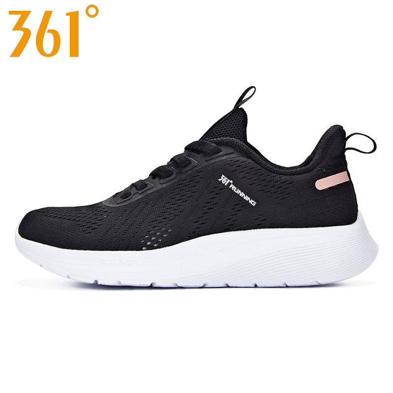 361 degree Women's running shoes breathable light weight 2019 new style sport sneakers outdoor 581922241(China)