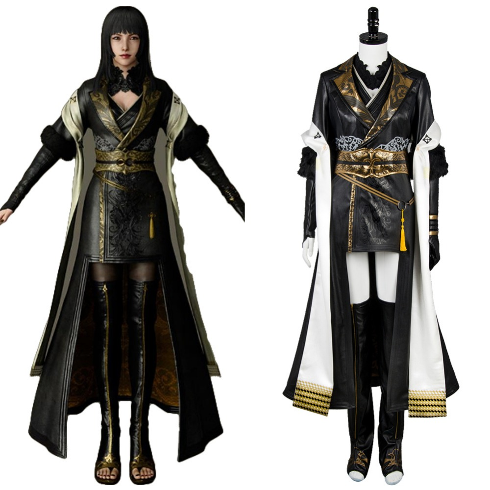 Final Fantasy 15 FF 15 cosplay Gentiana Cosplay Shiva Astral God Costume Full Set Outfit Dress