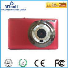 "Freeshipping 16 MP Digital Camera for kids with 2.7""TFT display And 8x Digital Zoom Mini camera Support 32GB Card Photo Camera"