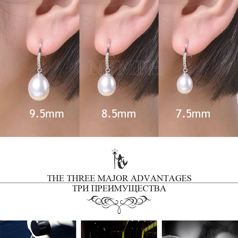 HTB1E0JUgfBNTKJjy1zdq6yScpXay NYMPH Pearl Jewelry Set Natural Fresh Water Pearl Necklace Pendant Earrings For Wedding Party Gift Women[tz1032]