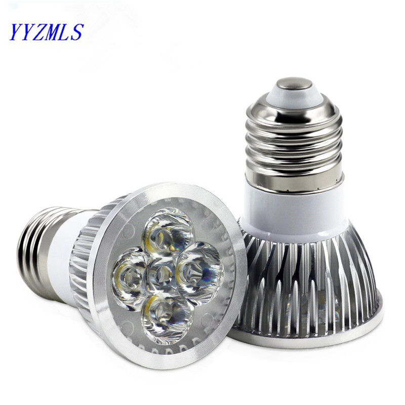 Купить со скидкой Free shpping 9W 12W 15W led Spot Light high power Bulb E27 Cool White/Warm White dimmable 220V 110V