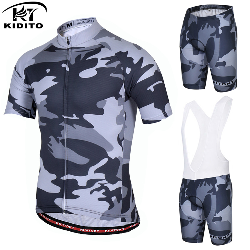 Mens Bike Bicycle Jersey Shorts Set Cycling Clothing Racing Clothes Suit M-XXL