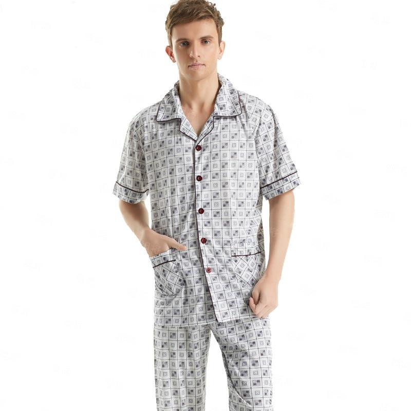 Online Get Cheap Cotton Mens Pyjamas -Aliexpress.com | Alibaba Group