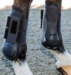 Clássico 1 par do plutônio cavalo legging protetor acessórios de corrida equipamentos equestres equitação equipamento para um cavalo