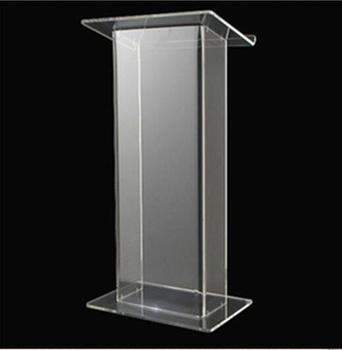 Transparent Acrylic Lectern Acrylic Working Platform / Acrylic Lectern / Acrylic Podium фото