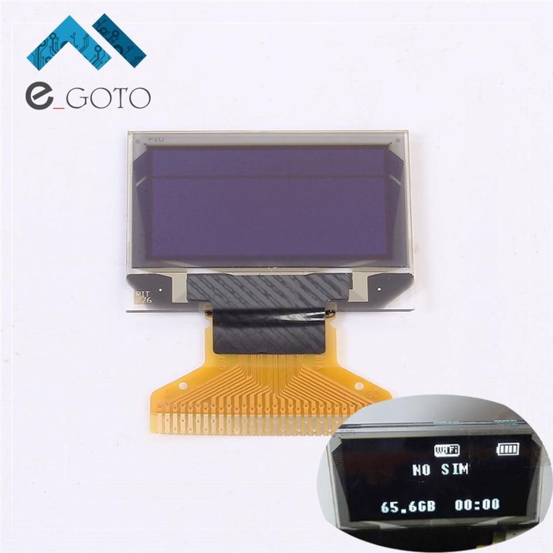 0 96 inch 128X64 White OLED Display 12864 LCD Screen Board 0 96 SSD1306 Passive Matrix