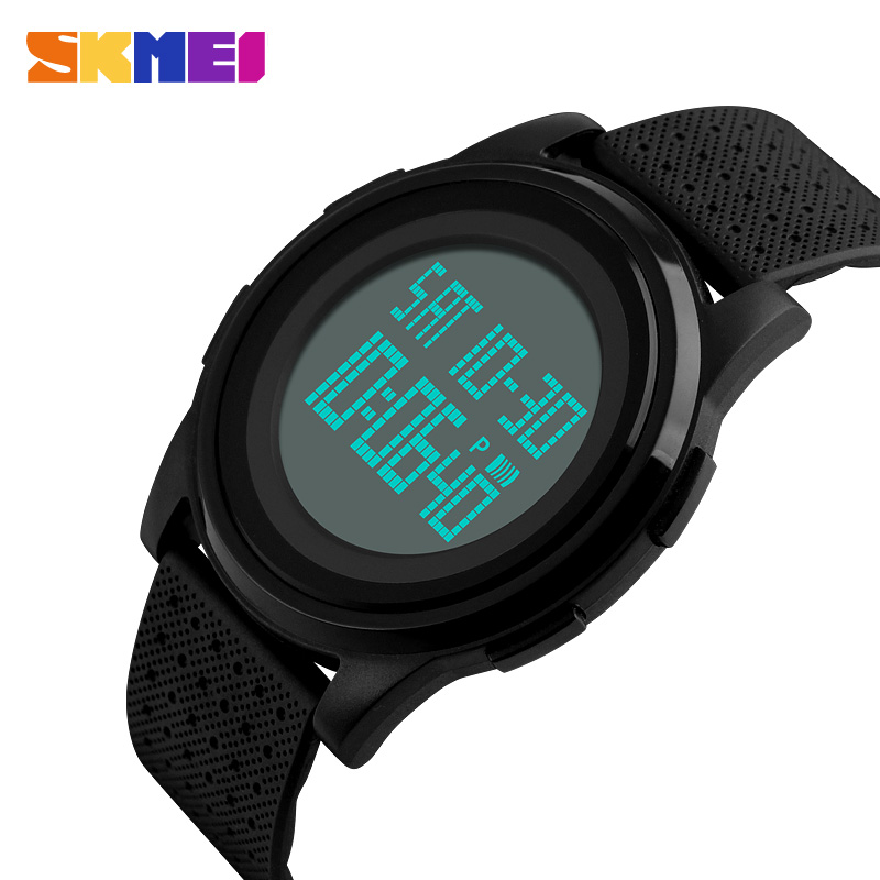 <font><b>SKMEI</b></font> Men Women LED Digital Watch Sport Thin Watches Waterproof Male Female Wristwatches Relogio Masculino Feminino Clock <font><b>1206</b></font> image