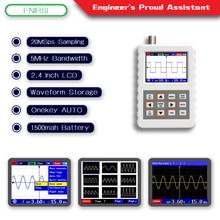 DSO FNIRSI PRO جهاز محمول صغير محمول ملتقط الذبذبات الرقمي 5 متر عرض النطاق الترددي 20MSps