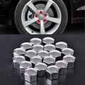 20 Unids/lote Perno del Estirón de la Rueda Tuerca Central Cubre Tapas 321601173A para Audi A4 Q5 VW Jetta Golf Skoda BMW ASIENTO con 17mm Hexagonal perno
