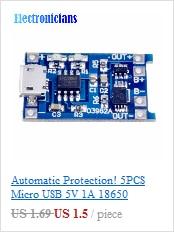 DS18B20 Термометр водонепроницаемый датчик 2 м 200 см Цифровой температурный датчик зонд для Arduino совместимый из нержавеющей стали