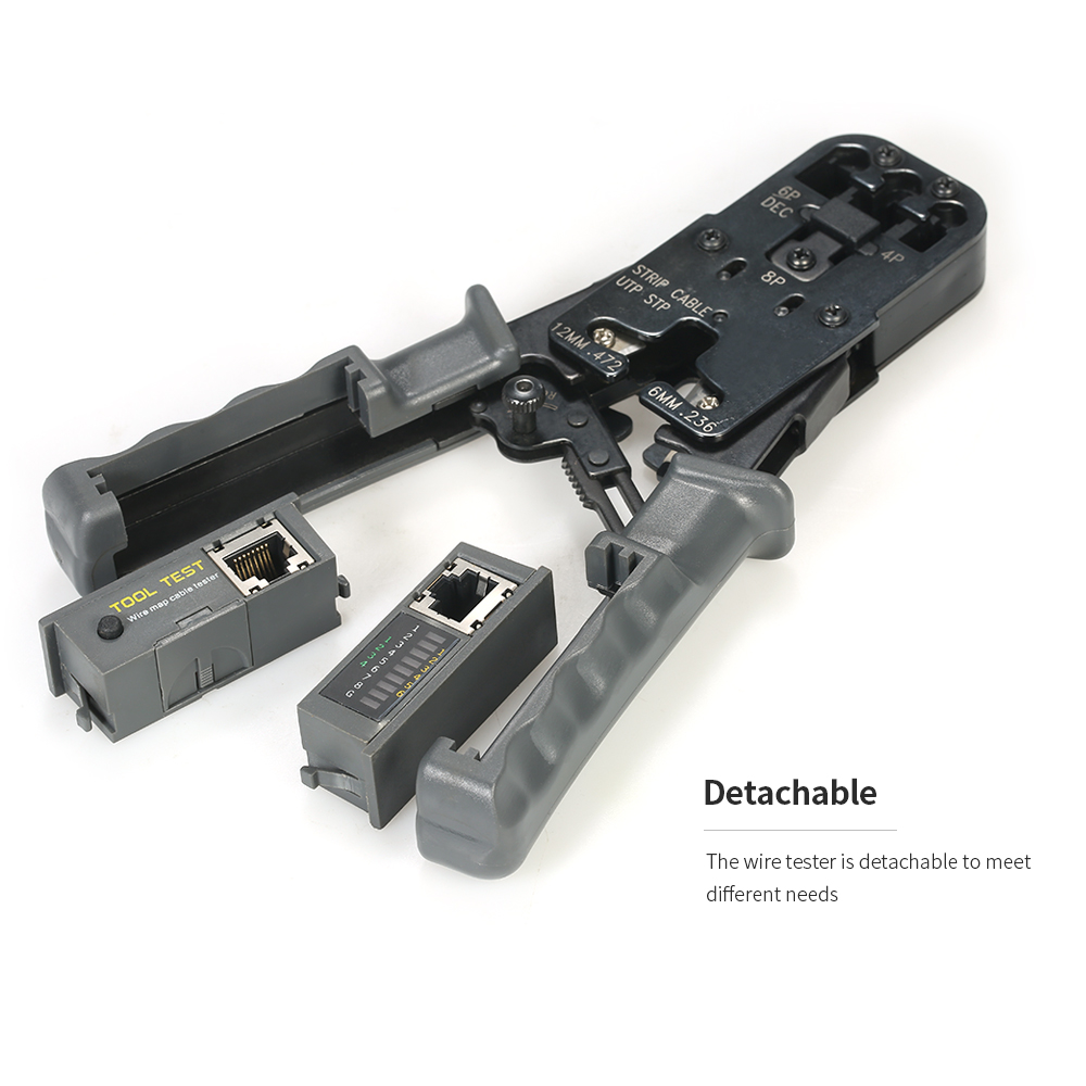 Professional multitool LED Detachable pliers Cable Crimping Tool ...